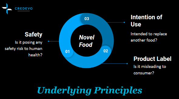 Underlying EU principles for Novel Food review process