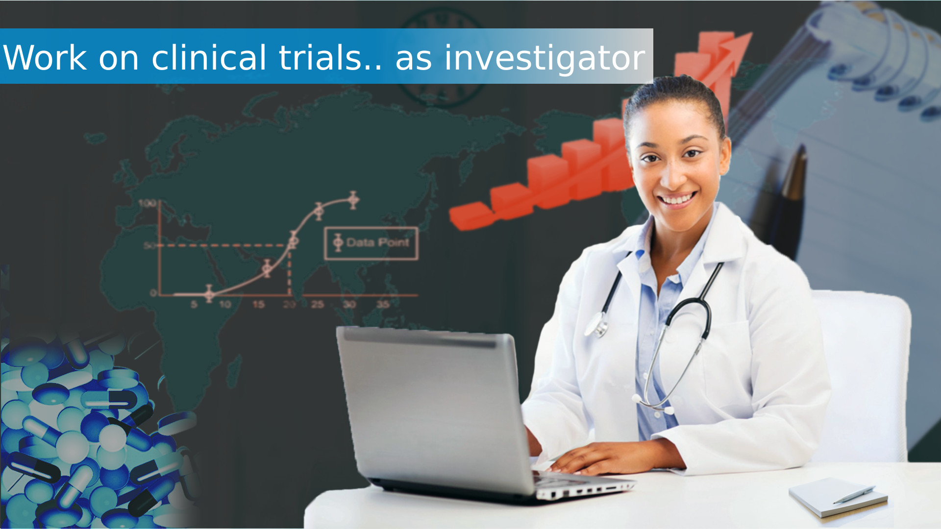 Find clinical trials to work as investigator