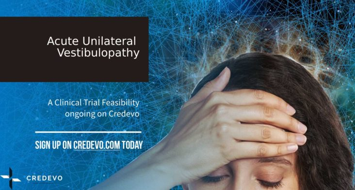 acute_unilateral_vestibulopathy_clinical_trial_feasibility_credevo