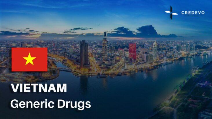 Generic drug market in Vietnam
