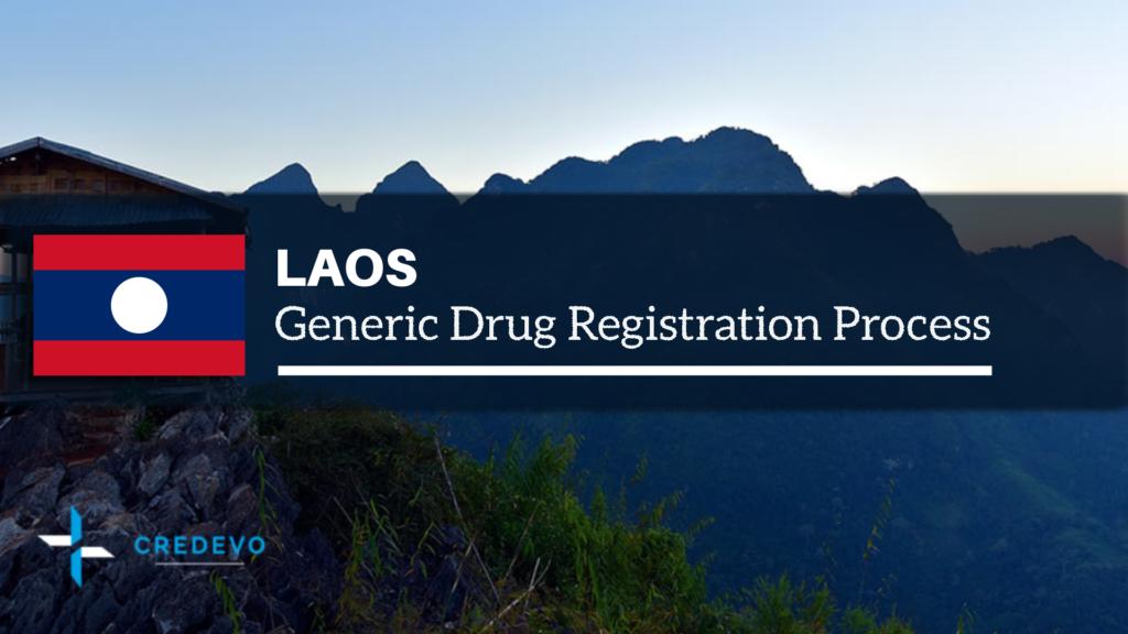 Generic drug approval in Laos