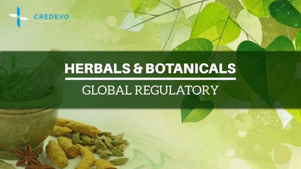 Botanical and herbal products global regulatory